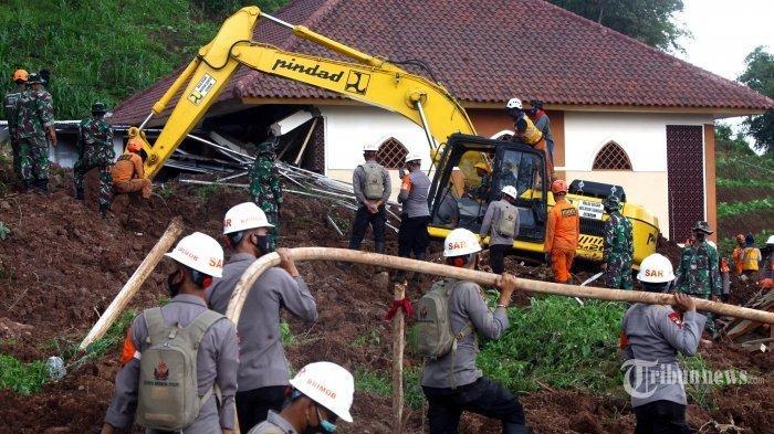 Update Longsor di Sumedang Jawa Barat, Total 31 Orang Meninggal Dunia, 9 Korban Masih Dicari