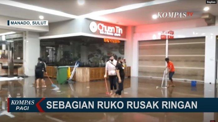 Usai Diterjang Gelombang Air Laut, Begini Kondisi Manado Town Square