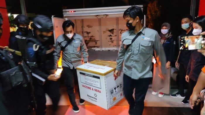 Vaksin Covid-19 Tiba di Gudang Farmasi Dinkes Provinsi Kaltara ( HO / Dinkes Provinsi Kaltara )