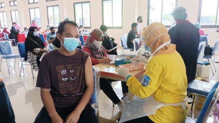 Vaksinasi Dosis Kedua Digelar di Tarakan, Target Suntikkan 1.000 Dosis untuk Guru & Pelayanan Publik