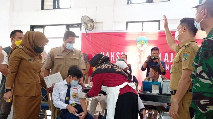 Update Jadwal Vaksinasi Covid-19 di Kabupaten Tana Tidung, Sasar Sejumlah Sekolah di Sesayap Hilir