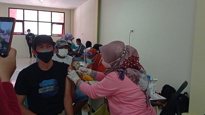 Imbau Masyarakat Mau Divaksin, Bupati Tana Tidung Ibrahim Ali Evaluasi Vaksinasi Covid-19 di KTT