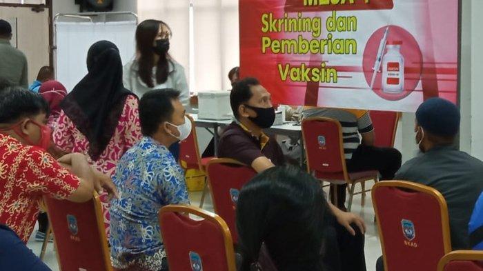 Vaksinasi Covid-19 Guru di Nunukan, Dari 3.565 Pendidik Dinkes Baru Terima Data Sebanyak 1.229 Orang