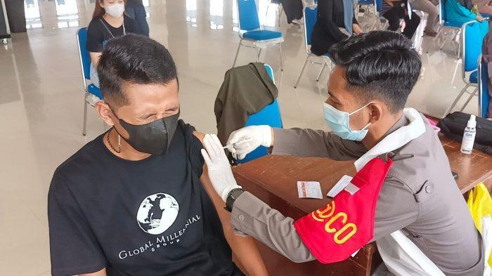 Capaian Vaksinasi Covid-19 Tarakan Hingga September 2021 Tembus 6.475 Orang, Tersisa 1.100 Dosis