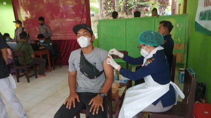 Vaksinasi Covid-19 Serentak Polres Tarakan, AKBP Fillol Praja: Sasar Warga Panti & Rumah Ibadah