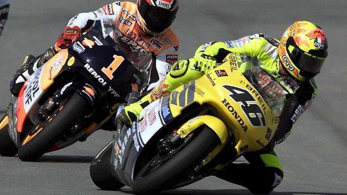 Ironi Valentino Rossi, Juara Dunia MotoGP 3 Kali Bareng Honda, Masih Kalah Sukses dari Marc Marquez