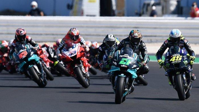 Live Streaming MotoGP Portugal, Valentino Rossi Start di Belakang, Tonton Gratis di HP via Trans7