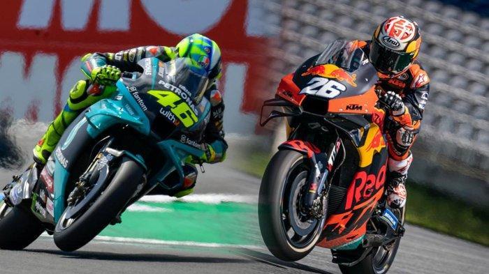 Live Streaming MotoGP Styria 2021, Dani Pedrosa Ungguli Rossi, Tayang di Trans7 Pukul 19.00 Wib