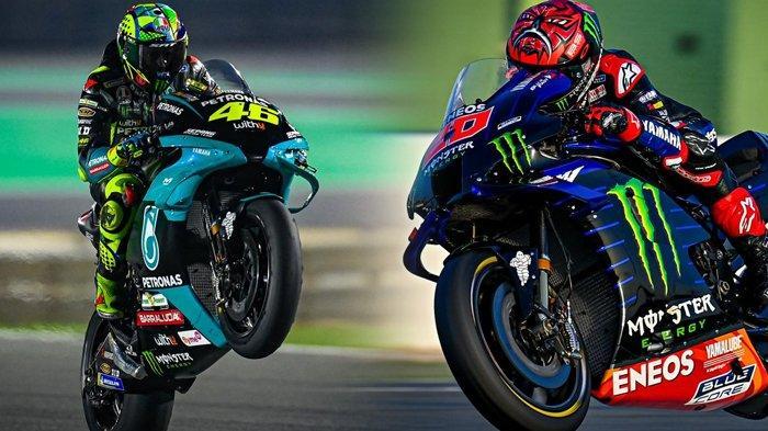 MotoGP Catalunya 2021, Rossi dan Marc Marquez Terpuruk, Quartararo Kurang Pede Jelang Kualifikasi