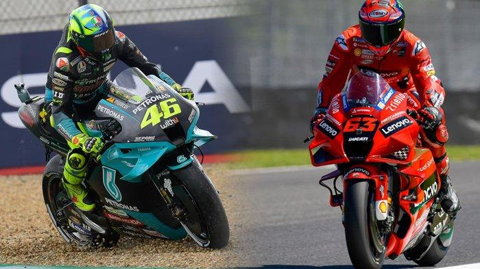 Balapan MotoGP Italia 2021, Valentino Rossi Larut, Rider Ducati Berjaya Jelang Kualifikasi