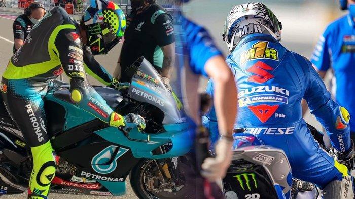 Lengkap, Hasil Tes Pramusim Pertama MotoGP 2021, Valentino Rossi dan Juara Bertahan Belum Memuaskan