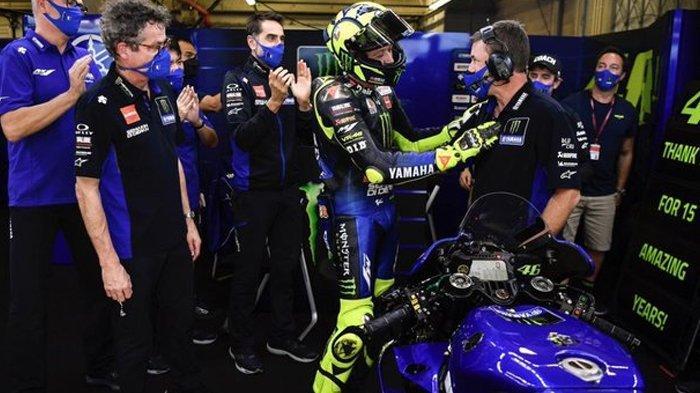 Klasemen Akhir MotoGP 2020, Perpisahan Buruk Valentino Rossi dengan Yamaha, Terlempar dari 10 Besar