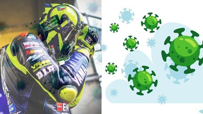 VALENTINO ROSSI Marah Usai Dinyatakan Positif Virus Corona, The Doctor Absen di MotoGP Aragon