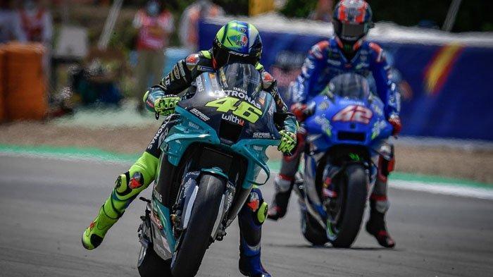 Jadwal MotoGP Prancis 2021, Tanda-tanda Petaka Valentino Rossi Sudah Terlihat di Sirkuit Le Mans