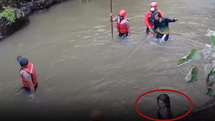 Viral Penampakan Perempuan Rambut Panjang saat Pencarian Korban di Sungai, Basarnas Bali Bereaksi