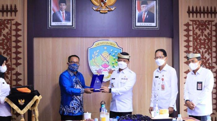 Kunjungan Kantor Pelayanan Pajak Pratama Tanjung Redeb di Ruang Rapat Bupati Tana Tidung, Rabu (13/10/2021) kemarin.