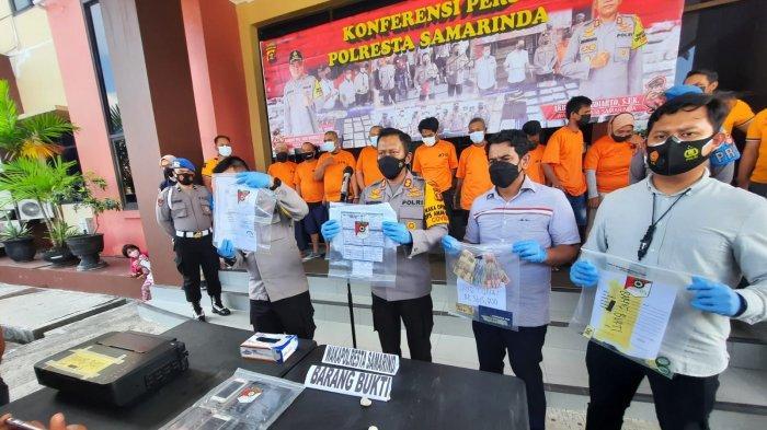 Bukan 3 Tersangka, Polresta Samarinda Amankan 9 Orang Terduga Bisnis Surat PCR Palsu di Bandara SAMS