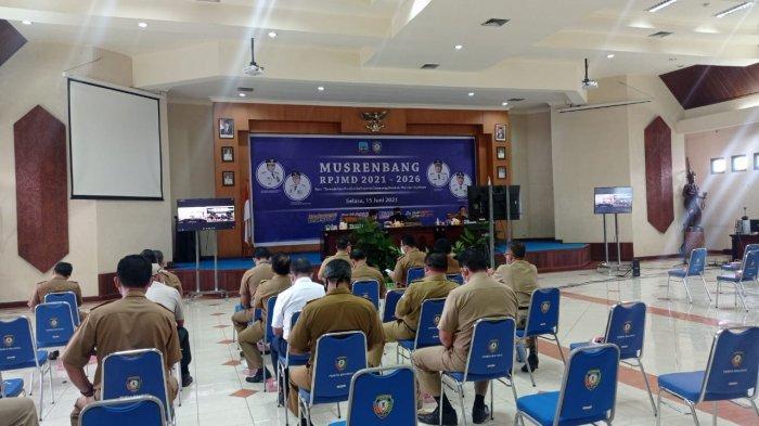 Mitigasi Bencana Banjir, Wakil Bupati Malinau Jakaria Usul Normalisasi Sungai di Musrenbang Kaltara