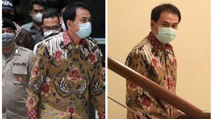Perlihatkan Gestur Santai, Wakil Ketua DPR Azis Syamsuddin Tiba di Gedung KPK, Langsung ke Lantai 2