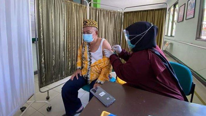 Kata Wakil Wali Kota Tarakan setelah Disuntik Vaksin Covid-19, Effendhi Djuprianto: Jarumnya Kecil