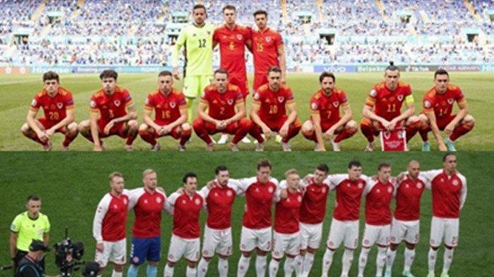 Segera Tayang!  Babak 16 Besar Euro 2020 Wales vs Denmark di Amsterdam, Lengkap Link Live Streaming