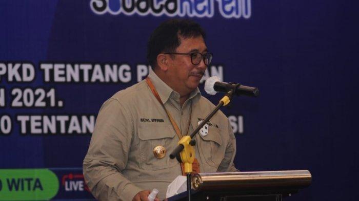 Walikota Balikpapan, Rizal Effendi. TRIBUNKALTARA.COM/DWI ARDIANTO