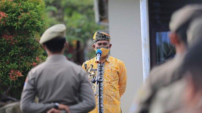 Wali Kota Tarakan Instruksikan Aparat Satpol PP Tegas, tapi Tetap Humanis selama PPKM