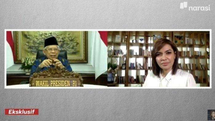 Wapres Maruf Amin tak Dilibatkan Jokowi Bahas Reshuffle: Allah yang Tau, Buka-Bukaan di Mata Najwa