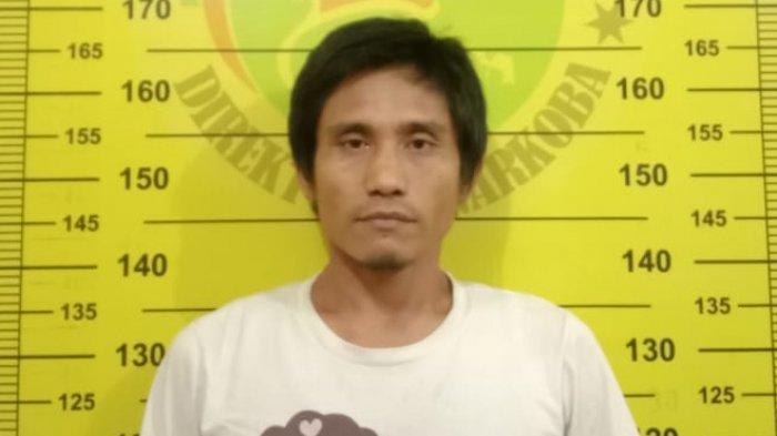 Pria Ini Diciduk Polisi Polres Bontang, Simpan Sabu 13 Bungkus di Kotak Orange