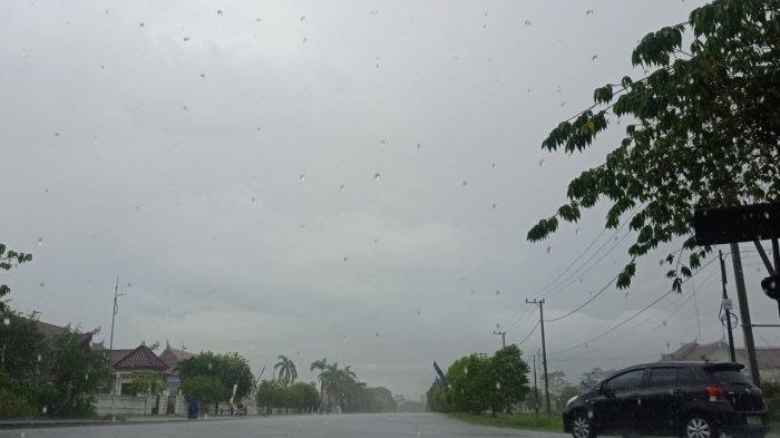 Waspada Hujan Petir pada Malam Hari di Kabupaten Malinau, Sabtu 19 Juni 2021