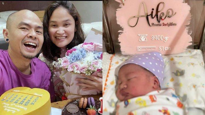 Wendi Cagur dan Ayu Natasha dikaruniai anak ketiga, nama sang bayi buat netizen salfok