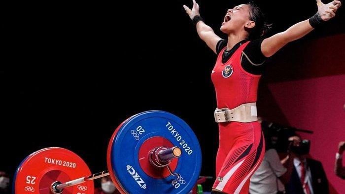 Lifter Windy Cantika Sumbang Medali Perdana Indonesia di Olimpiade Tokyo, Wariskan DNA Juara