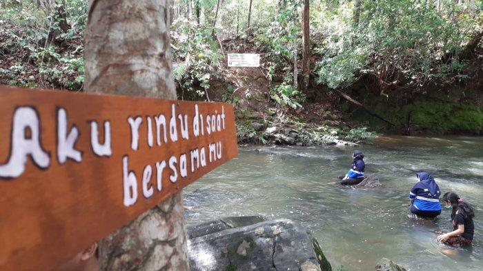Surga Tersembunyi di Belantara Seberang Sungai Kayan, Wisata Alam Karai Jadi Rekreasi Baru Keluarga