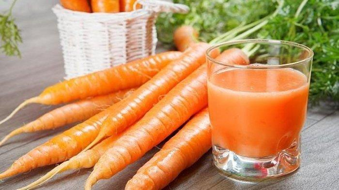 Mengandung Antioksidan dan Vitamin A, Jus Wortel Dapat Cegah Pertumbuhan Sel Kanker