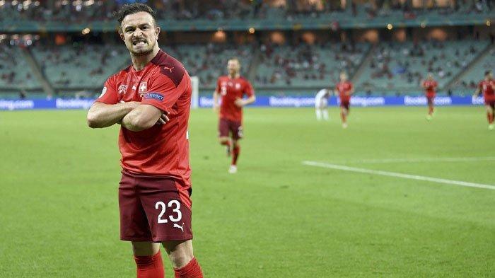 Turki Gigit Jari, Angkat Koper di Euro 2020 Tanpa Poin, Kalah 3-1 dari Swiss, Xherdan Shaqiri Brace