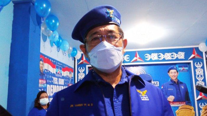 Rencana Maju di Pilpres 2024, Belum Banyak Baliho AHY di Kaltara, Ini Alasan DPD Partai Demokrat