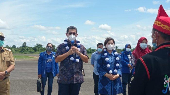 Pulang Kampung, Wagub Kaltara Yansen Tipa Padan Ngaku Ingat Malinau Saat Dilantik Jokowi di Istana