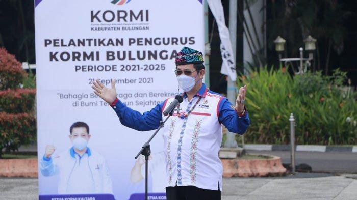 Yansen TP melantik pengurus KORMI Bulungan