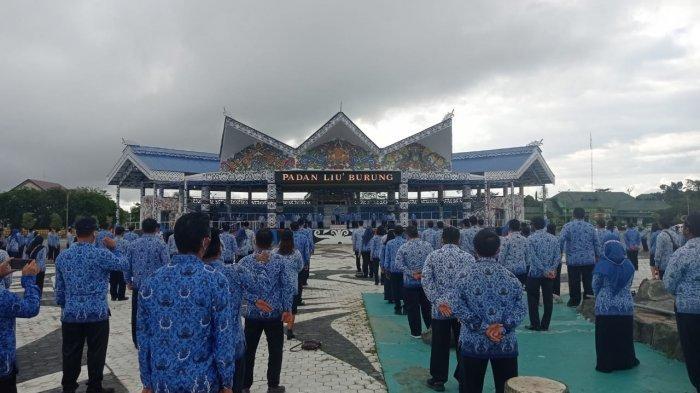 Pamitan dalam Apel Gabungan Korpri Malinau, Yansen TP: Datang Tampak Muka, Pulang Tampak Punggung