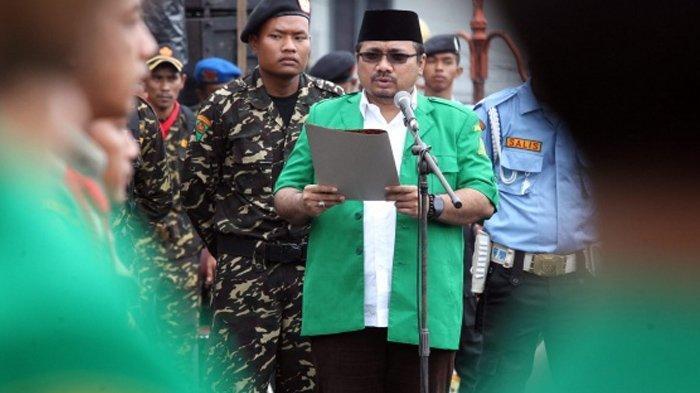 Bos GP Ansor Jadi Menteri Agama, PA 212 Sindir Yaqut Cholil Qoumas, Sebut Akan Dibuat Hancur Lagi