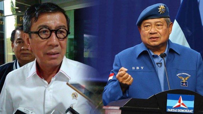 Menkumham Yasonna Tak Main-main soal Polemik Partai Demokrat, Beri Peringatan Keras ke SBY dan AHY