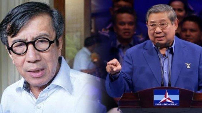Orang Kepercayaan SBY dan AHY di Partai Demokrat Balas Yasonna, Tuding Kemenkumham Penyebab Dualisme