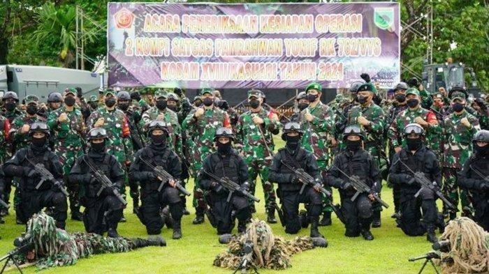 Pasukan Raider TNI Kodam Kasuari Diturunkan Kejar KKB Papua, Jenderal Kopassus Beri Pesan Khusus