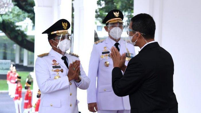 Gebrakan Zainal Paliwang Seusai Dilantik Jokowi Jadi Gubernur Kaltara, Langsung Perketat Perbatasan