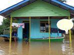 Sungai di Malaysia Meluap, 8 Desa di Nunukan Terendam Banjir, 2.752 Jiwa Pilih Bertahan di Rumah