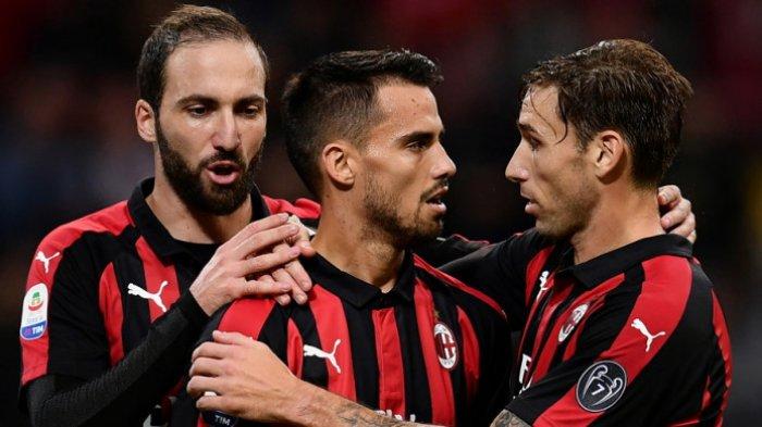 AC Milan Melejit ke Posisi 5 Klasemen Sementara Liga Italia Usai Tekuk Sampdoria 3-2