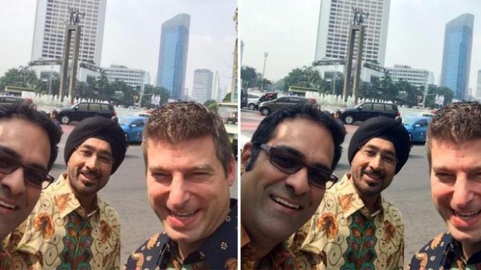 Ternyata Bos Baru Twitter Suka Pakai Batik