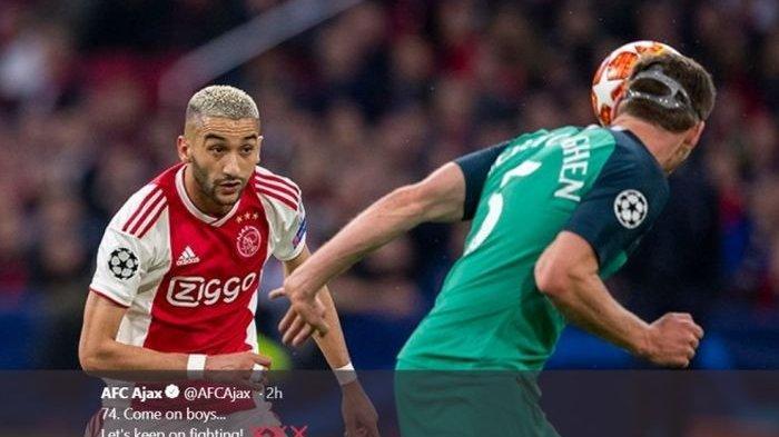 Keluar dari Ajax Amsterdam, Hakim Ziyech Diminati Klub Top Liga Inggris dan Liga Jerman
