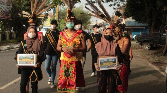 Disbudpora dan Mitra Pariwisata Kapuas Kalteng Gelar Aksi Sosial Peduli Banjir Kalsel