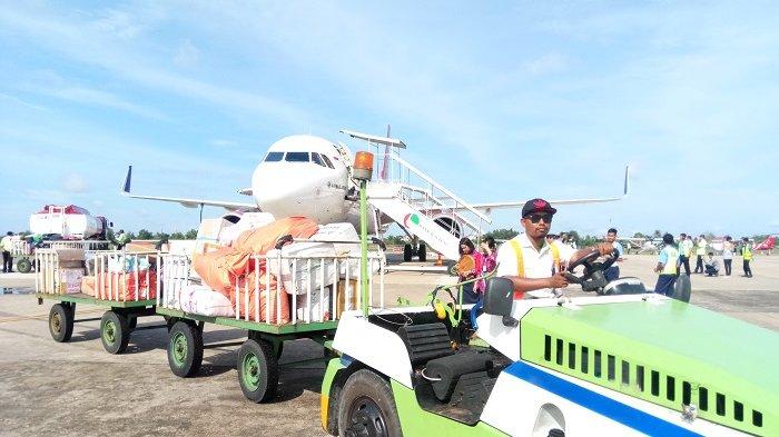 Penerbangan di Bandara Tjilik Riwut Paling Tinggi di Kalteng, Ini Penyebabnya